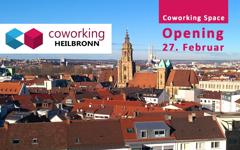 Opening Coworking Space Heilbronn