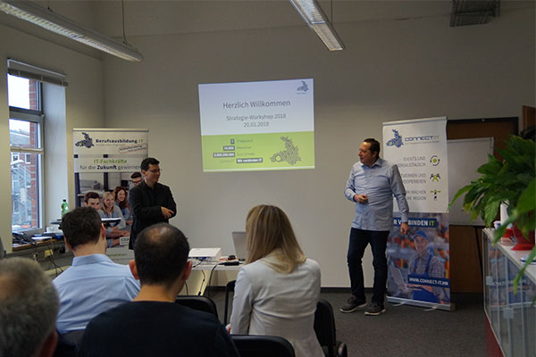 Innovationsreise für connect.IT beim Strategie Workshop 2018+