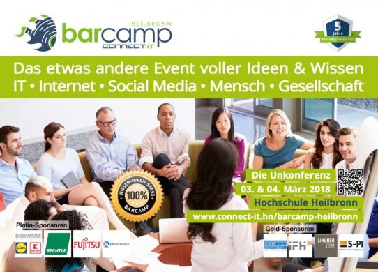 Mitmachen, Ideen teilen und Neues entwickeln beim Barcamp Heilbronn