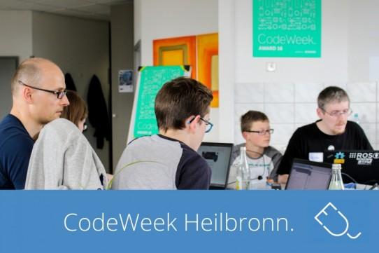 Code Week Heilbronn 2016 – lerne coden und gestalte deine Zukunft!
