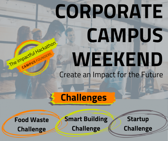 Corporate Campus Weekend – The Hackathon with Impact!