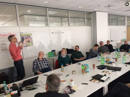 SCRUMTISCH meets UX Stammtisch: Requirements Management