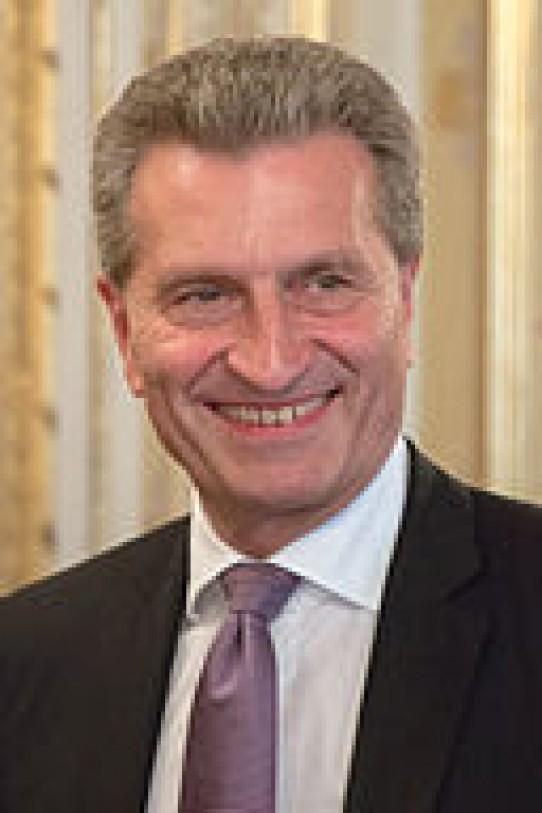 Cloud, Big Data, Security mit EU-Kommissar S.E. Günther Oettinger