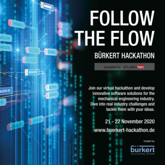 FOLLOW THE FLOW | BÜRKERT ONLINE HACKATHON powered by studentec