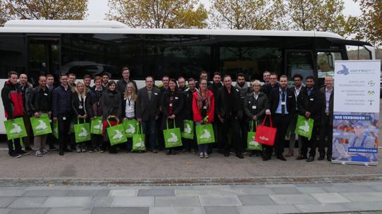 Einsteigen und Karriere machen: IT-Jobshuttle bringt Studierende zu Heilbronner Unternehmen