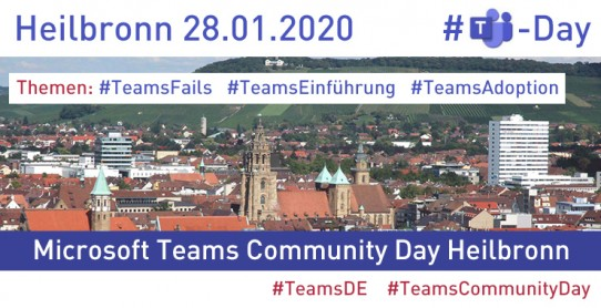 Microsoft Teams Community Day Special in Heilbronn